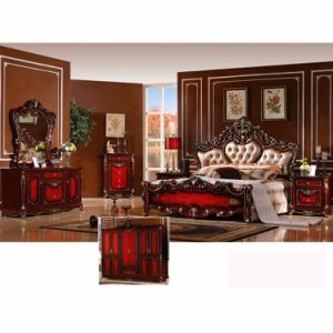 Classic Bed for Bedroom Furniture Set and Home Furniture (W811A) pictures & photos