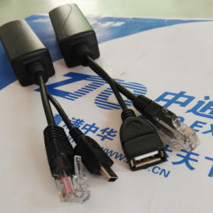 USB Female Poe Splitter 10/100Mbps 5V 2.4A Power Output for iPad pictures & photos