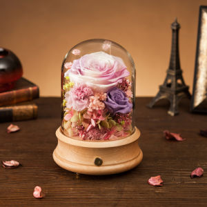 Handmade Flower Music Box Gift for Wedding Christmas pictures & photos