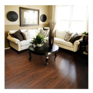 12mm HDF Pressed Beveled Edge Lamate Flooring pictures & photos