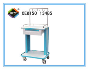 B-85 Medical Equipment ABS Medicine Trolley with Layer