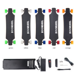 4 Wheels′ Electric Balancing Longboard with Ce, RoHS, FC, MSDS, Un38.3 pictures & photos