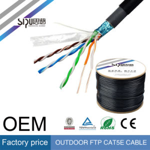 Sipu Outdoor FTP Cat5 LAN Cable Network Cable for Internet pictures & photos