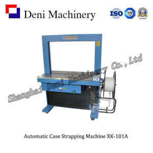 Semi-Automatic PP Ribbon Case Strapping Machine (XK-101A) pictures & photos