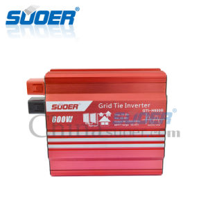 Suoer 600W 24V to 230V Grid Tie Power Inverter (GTI-H600B) pictures & photos