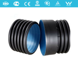 HDPE Double Wall Corrugated Drainage Drain Pipes pictures & photos