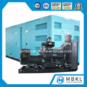 50kw/63kVA~800kw/1000kVA Silent Electric Diesel Generator Generating Set with Shangchai Engine pictures & photos