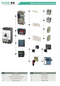 Ns (LCD) Moulded Case Circuit Breaker MCCB pictures & photos