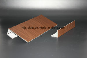 Aluis Interior Woodlike Aluminium Composite Panel pictures & photos