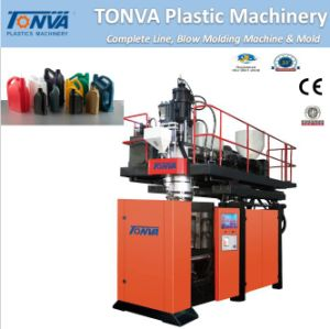 PE Automatic Bottle Neck Cutting Blowing Machine pictures & photos