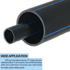 Professional Manufacturer PE Pipe for Water/ HDPE Pipe for Water Supply pictures & photos