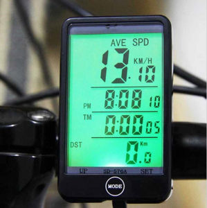 Waterproof Bike Computer Light Mode Touch Wired Bicycle Cycling Speedometer pictures & photos