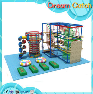 Indoor Playground Children Rope Course Climbing Net pictures & photos