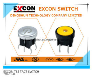 Tact Switch Ts2 Series with Light and Water-Proof Switch pictures & photos