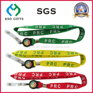 Office Strap Custom Polyester Neck Lanyard with Metal Hook & Detachable Buckle pictures & photos