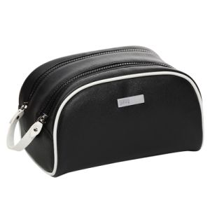 Cosmetic Bag Leather Toiletry Bag for Travel pictures & photos