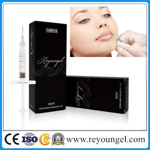 Sodium Hyaluronate Acid Dermal Filler Injection Ha Lip Enhancement pictures & photos