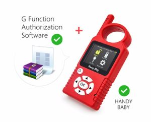 Original Handy Baby Hand-Held V8.1.0 Car Key Copy Auto Key Programmer for 4D/46/48 Chips Plus G Chip Copy Function Authorization pictures & photos