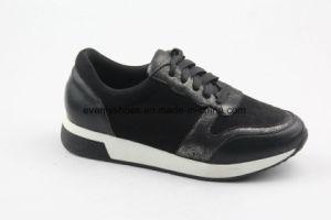 Five Colors Comfortable Lace up Fashion Lady Shoes pictures & photos