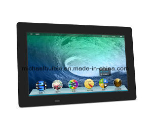 10.1 Inch Ultra Thin TFT LCD Screen Advertising Display (HB-DPF1004) pictures & photos