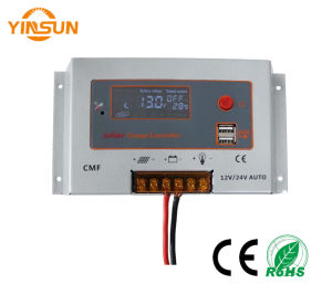 10A12V/24V PWM Solar Panel Battery Regulator Charge Controller pictures & photos