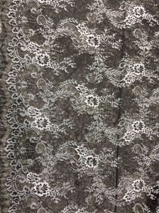 Eyelash Fabric in Two-Tones with Matellic Ine for Lady′s Dress pictures & photos