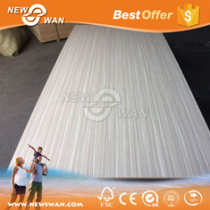 Wood Grain Laminated MDF, Melamine Sheet pictures & photos