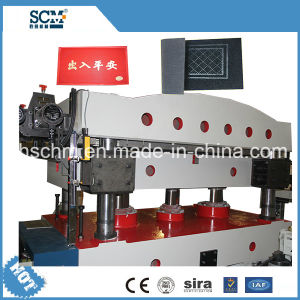 Rubber, Mat, Carpet Stamping and Cutting Machine pictures & photos