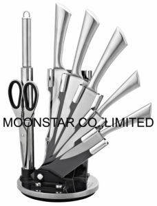 8PCS Knife Set with Acrylic Stand pictures & photos
