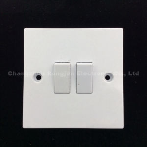 Bakelite Material 2 Gang 1way or 2way Wall Switch (821) pictures & photos