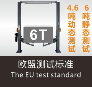 High Quality Two Post Car Lift with Ce Hydraulic Car Lift pictures & photos