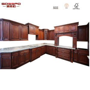 Factory Direct Sale Home Use Wooden Kitchen Cabinet (GSP5-043) pictures & photos