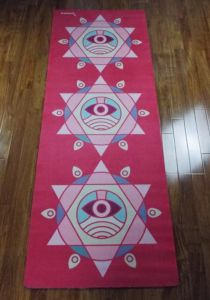 Digital Printing Natural Rubber Yoga Mat