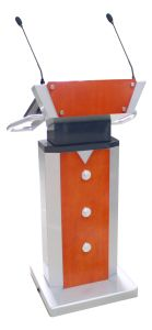 All in One Design Speech Podium Lectern with Microphone pictures & photos