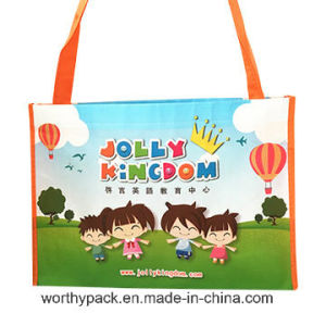 Promotinal PP Laminated Woven Gift /Shopping Bag with Custom Design