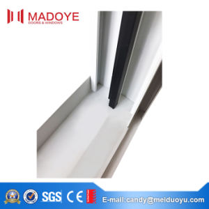Aluminium Vertical Sliding Window with Grids Inside pictures & photos