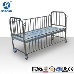 Single-Crank Children Hospital Bed Safe Guardrail