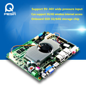 Intel Original Atom Motherboard Sw2825 Fanless Atom Embedded Motherboard pictures & photos