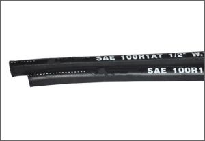 SAE 100r1 Steel Wire Reinforced Rubber Covered Hydraulic Hose pictures & photos