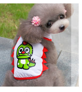 Dog Premuim Cartoon Dinosaur Small Pet Vest pictures & photos
