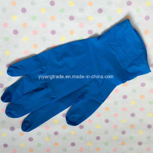 Powder Free Nitrile Disposable Gloves with High Quality pictures & photos