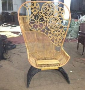 Selling Recreational Cane Seat Outdoor High Back Chairs Real Estate Cany Chair Chair Club (M-X3723) pictures & photos