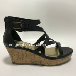 Most Fashion and Comfortable High Heel Sandals Women Shoes pictures & photos