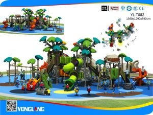 New Plastic Kid Outdoor Playground Factory Sale with Discount (YL-T082) pictures & photos