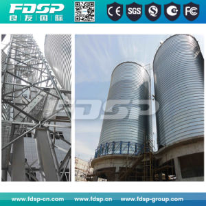 Hot Galvanized Grain Storage Steel Silo with CE SGS Approved pictures & photos