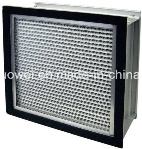 Aluminum Frame Deep Pleat HEPA Filter pictures & photos