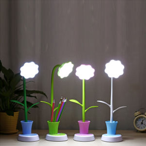 Sunflower LED Table Lamp for Penholder and Reading Light pictures & photos