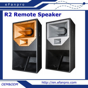R2 New Product Long Distance Professional Active Remote Speaker pictures & photos