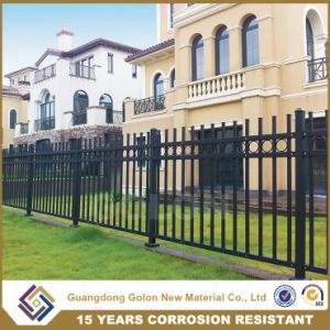 Security Powder Coated Wrought Iron Pool Fence pictures & photos
