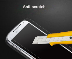 High Security Waterproof Anti-Scratch 9h Tempered Glass Screen Saver for Mobile Phone Samsung S4 pictures & photos